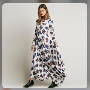 Free People First Kiss Floral Maxi Dress S